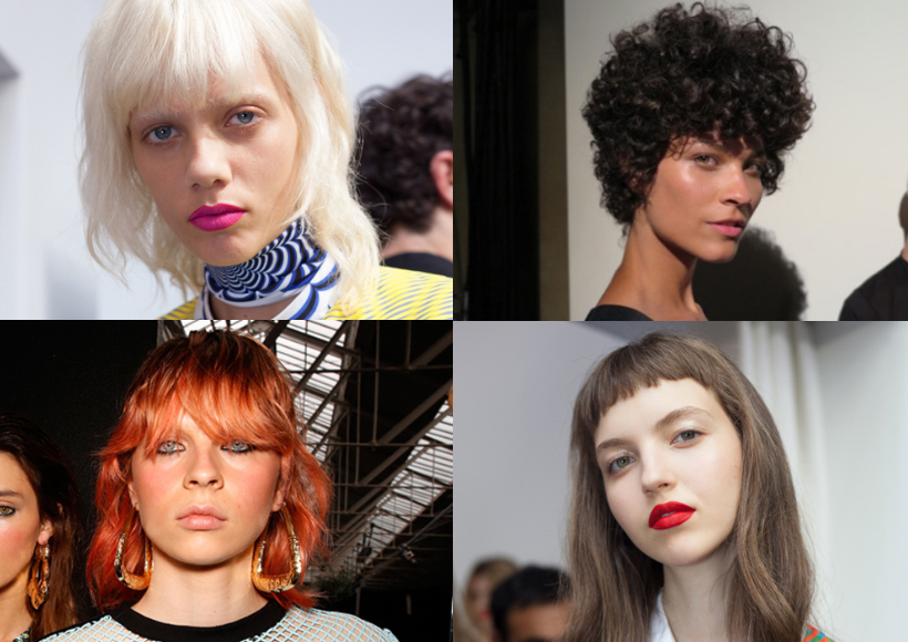 Fringes for hair types