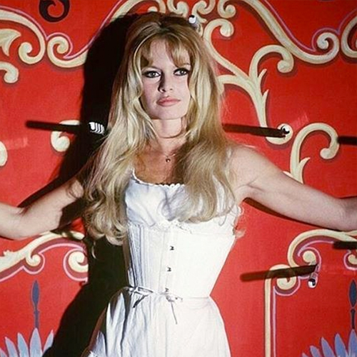 My Hair Crush Brigitte Bardot Layered