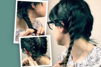 WATCH! Rope, Dutch, Fishtail – the three braids you CAN do at home