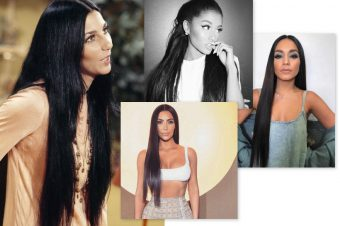 How to rock super-long hair