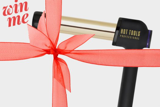 Win… an Instagrammable 24k gold angled CurlBar from Hot Tools Professional, worth £100!
