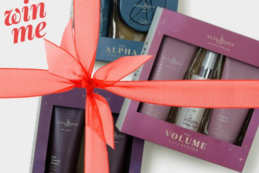 Win… all the amazingly scented seasonal goodies from Neäl & Wølf, worth £117.80!