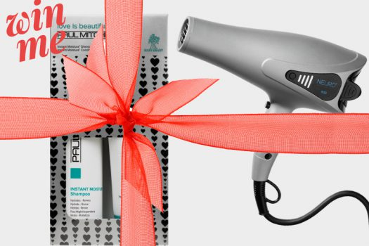 Win… a bouncy and brilliant blow out from Paul Mitchell, worth £120!